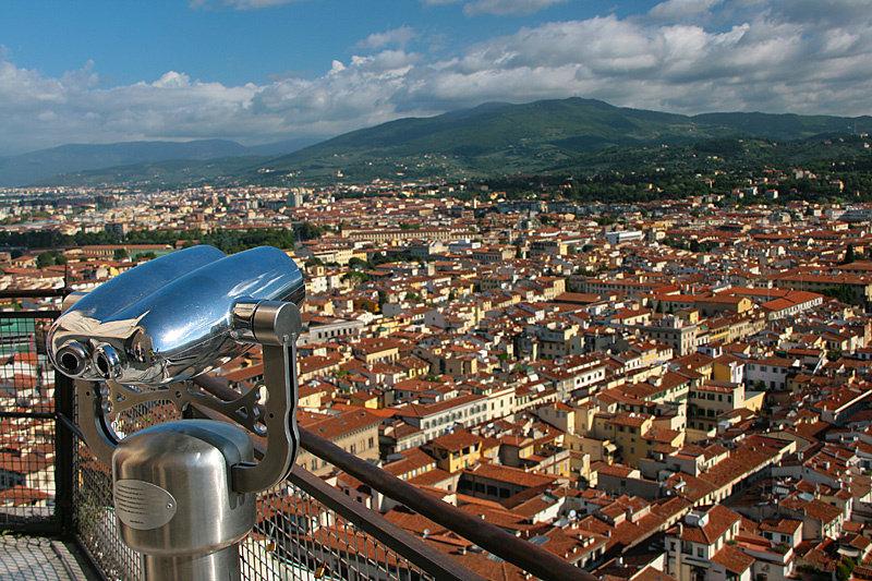 И вы будете вознаграждены лучшим видом на Флоренцию