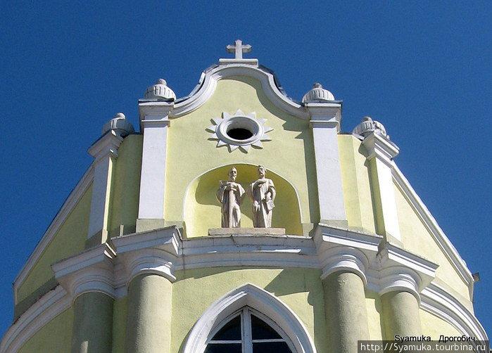 Фрагмент церкви.