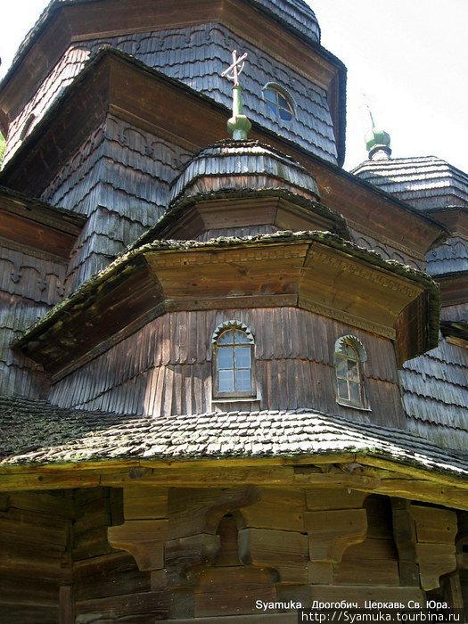 Фрагмент церкви Святого Юра.