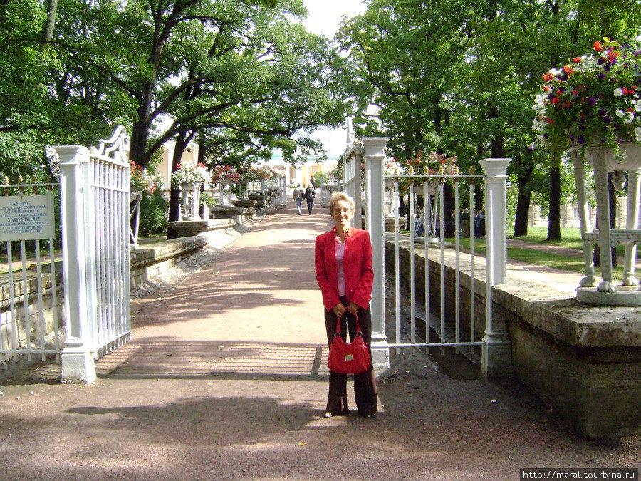 Вход на Пандус Камероновой галереи