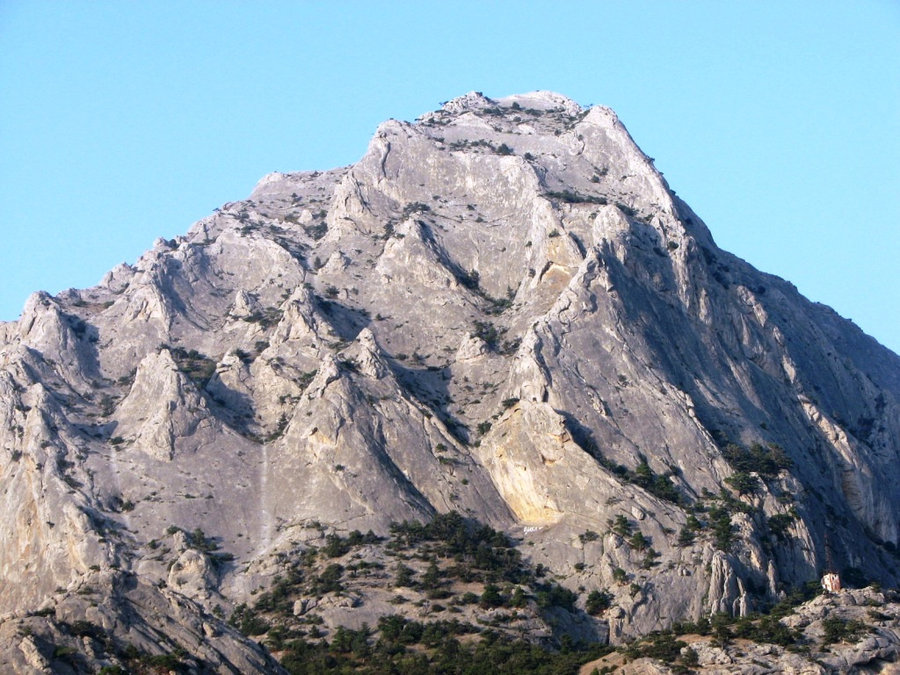 Скала к востоку от Нового Света