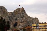 Крепость возвышается над Токатом