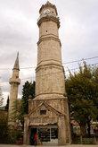 Башня с часами и минарет