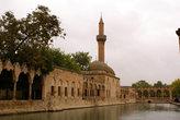 Мечеть на берегу пруда