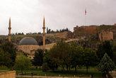 Новая мечеть и крепость