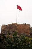 Турецкий флаг над крепостью