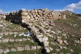 Руины храма в Хаттуше