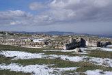 Снег на руинах Хаттуши