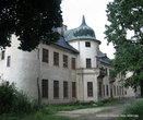 Охотничий домик был построен в 1896 — 1903 годах, как двухэтажный дворец, в форме французских охотничьих замков эпохи Ренессанса при Шуваловых.