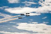 пилотажная группа Русь в небе над Архангельском