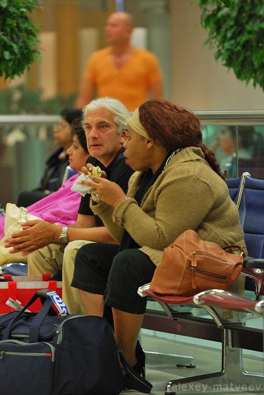 В аэропорту Дохи