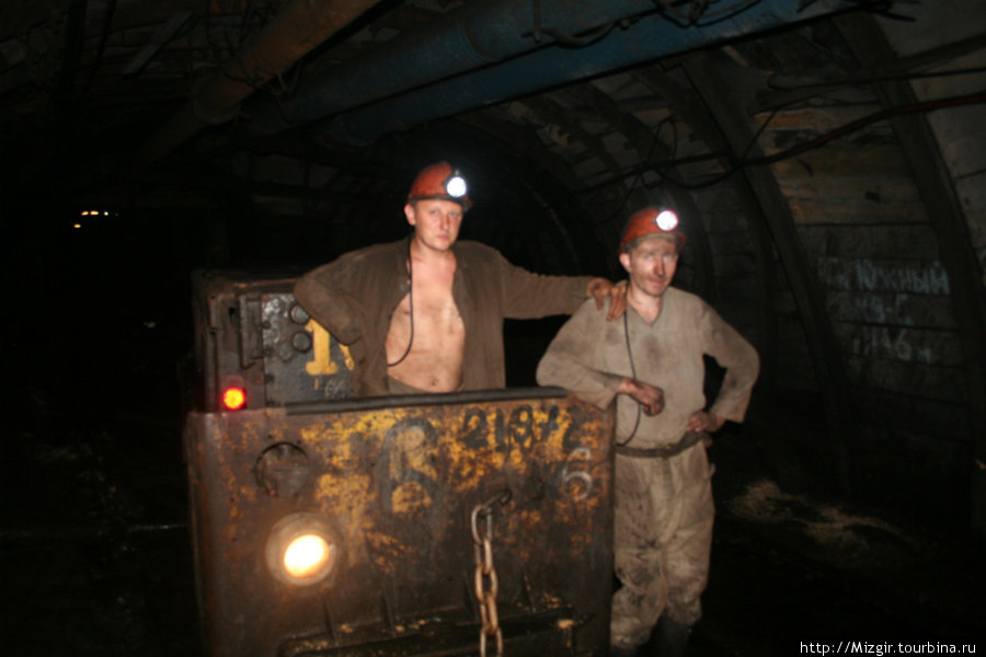 Электровоз — подземный транспорт