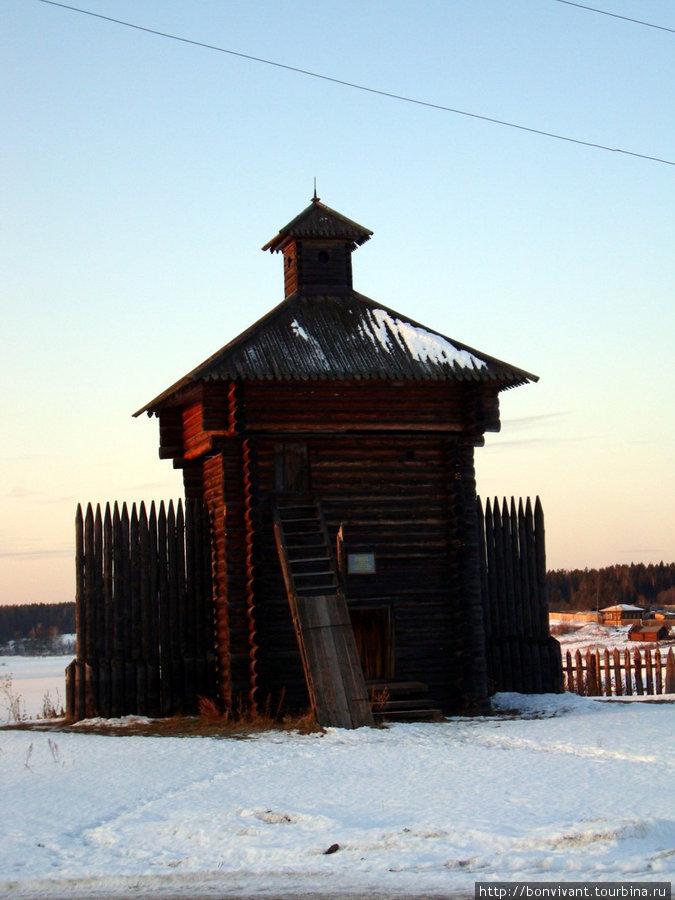 Башня острога