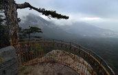 А это на следующий день на Ай-Петри. Конечно, думать, что природа подарит вчерашнюю красоту не приходится, но и в тумане красиво