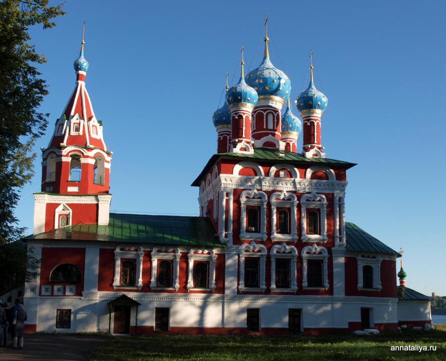 Церковь Дмитрия-на-крови