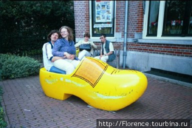 Еще один туристский аттракцион — а мы счастливы, что в Амстердаме