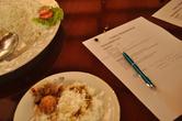 Все ценные рекомендации по ходу занятия записаны, пропорции указаны... Дома можно будет потренироваться — и звать друзей на вечер воспоминаний о туре на Шри-Ланку!