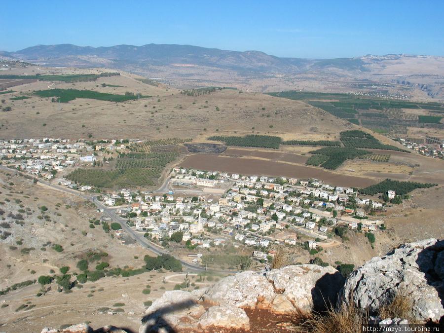 Хамам. Вид с самой вершины