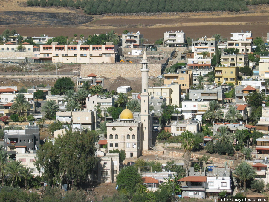 Хамам. друзская деревня