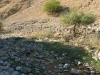 В каменном русле воды почти нет.
