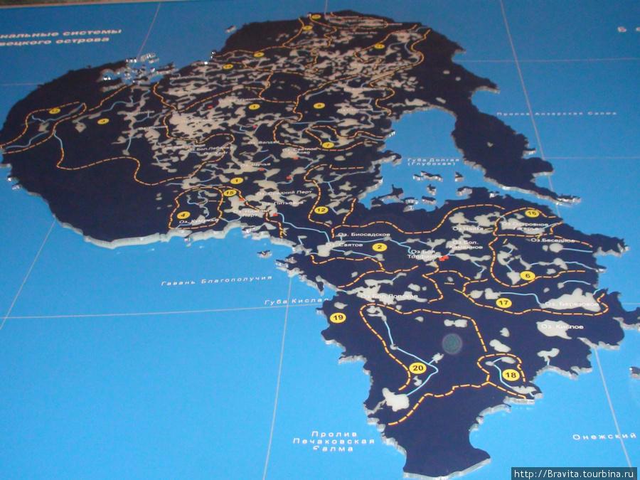 Канальные системы Соловецкого острова