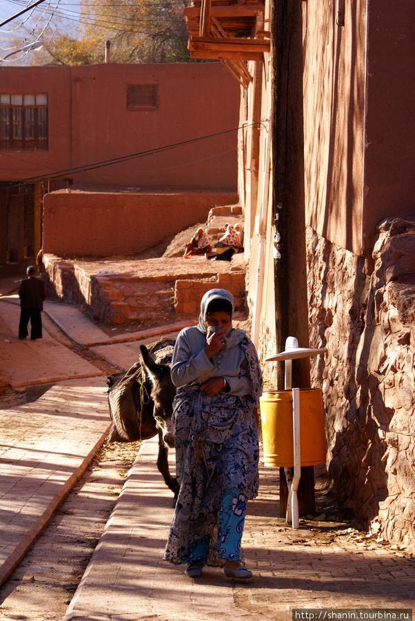 Женщина с ослом фото 383-768