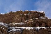 Скала с замком Аламут