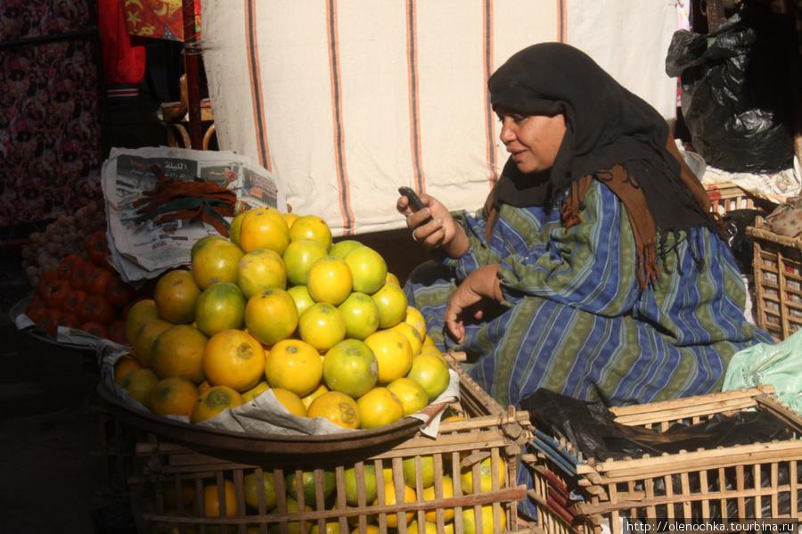бабушка и апельсины