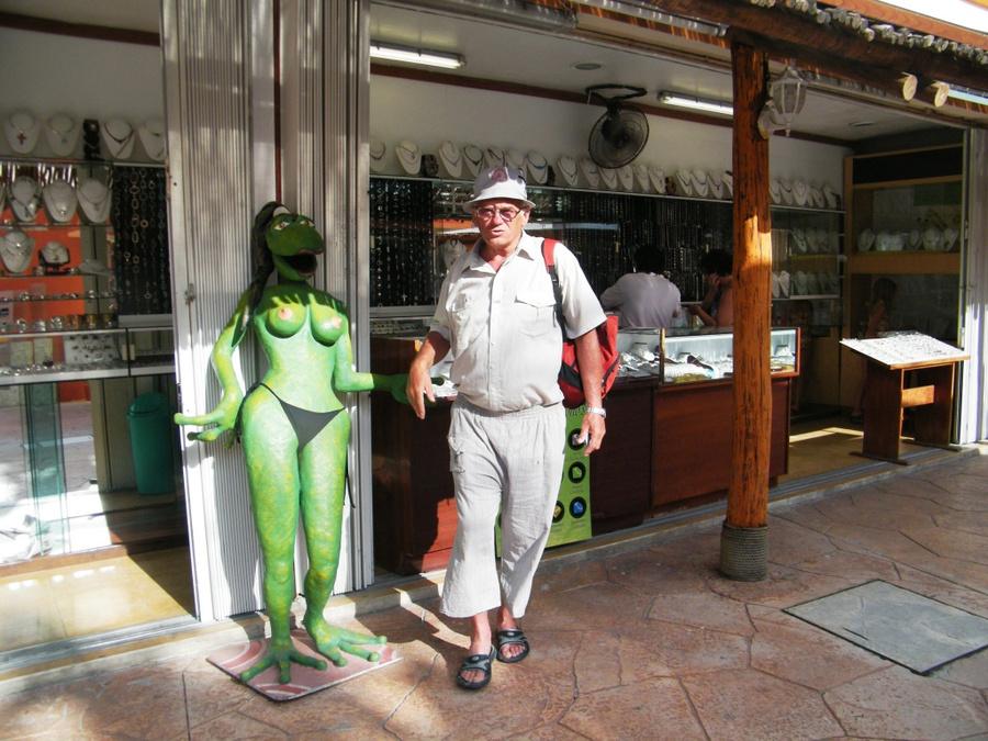 Фото с царевной-лягушкой