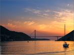 Мост Дубровника на закате