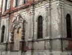 Фрагмент церкви Михаила Архангела. Следы войны.