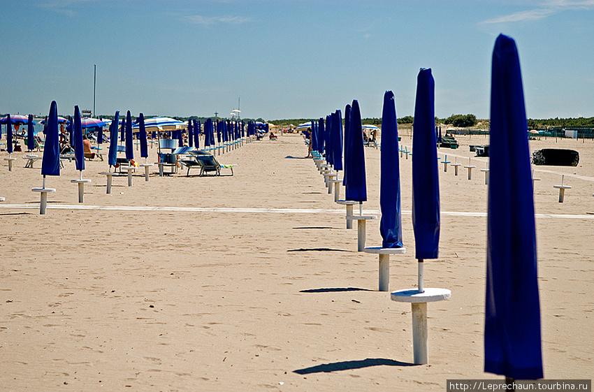 Пляж на Адриатике