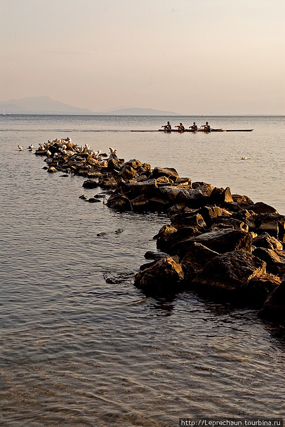 Швейцария. Лак Леман — Женевское озеро