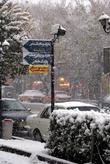 Тебриз под снегом