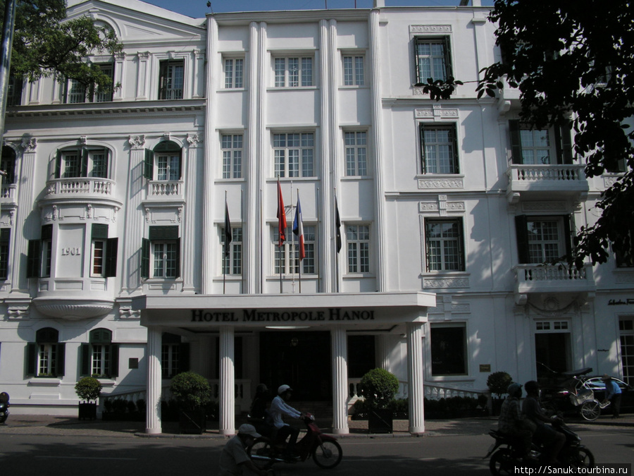 Hotel Metropole Hanoi, 1901