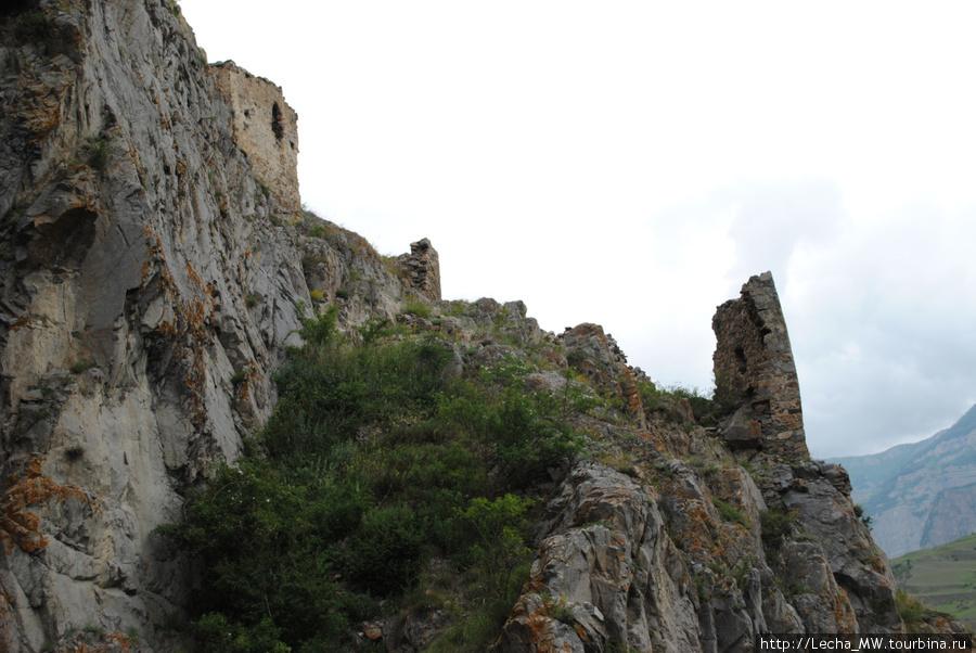 Первый ярус крепости Зылги