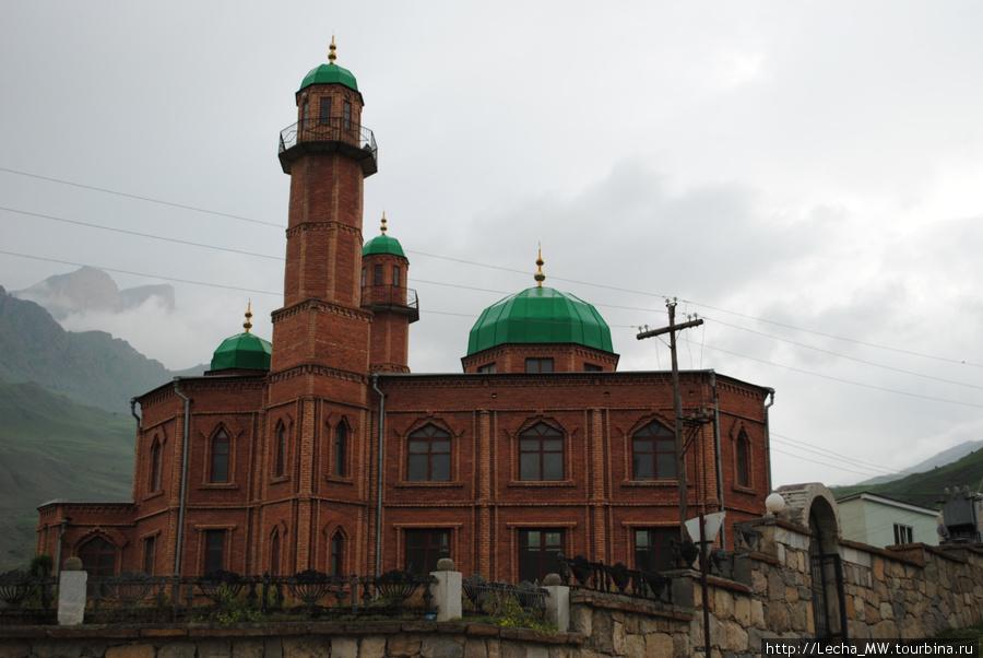 Мечеть в Верхней Балкарии