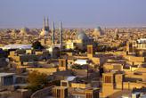 Вид на Йезд с мечети Амир Чакмак