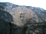 Скалы постепенно отступают