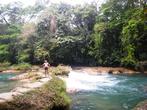 Речка выше водопада