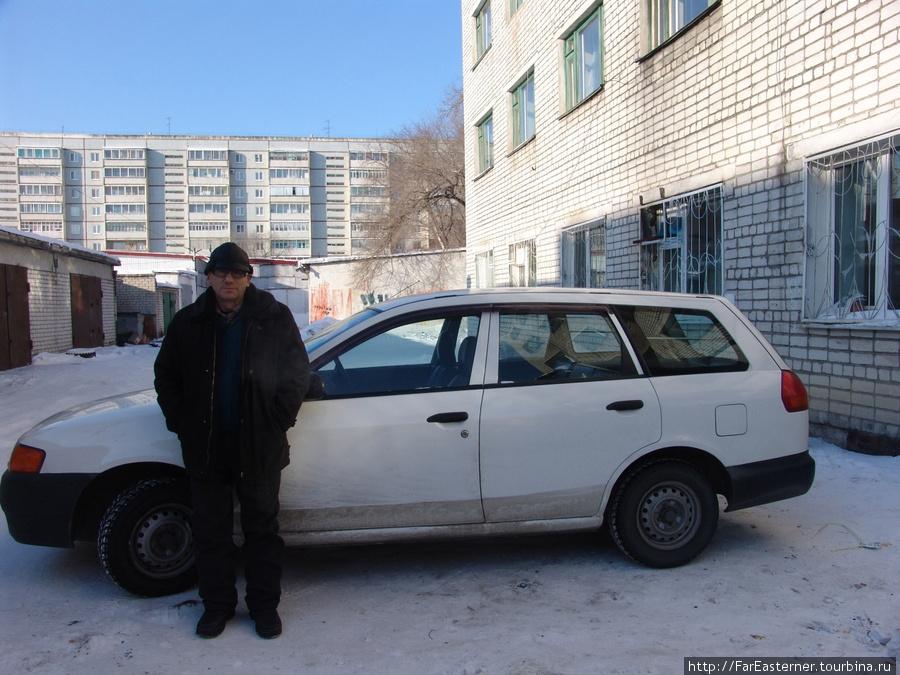 Благовещенский таксист Валера довез меня до гостиницы