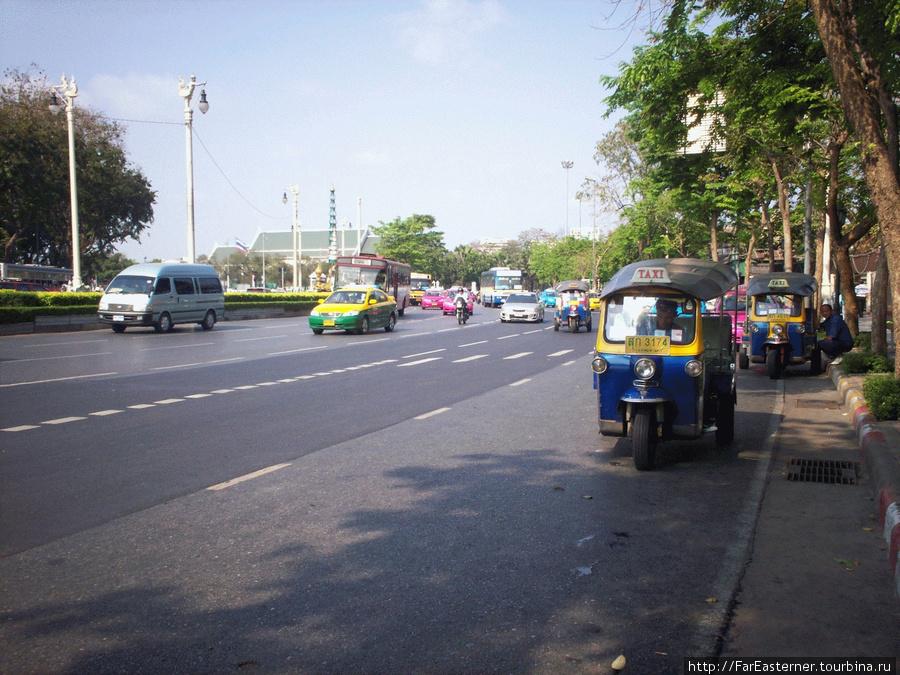 На бангкокской улице