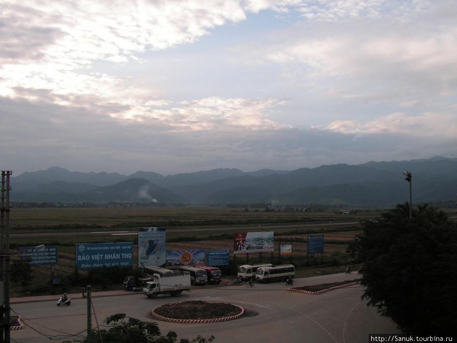 Dien Bien Phu. Вид с гостиницы