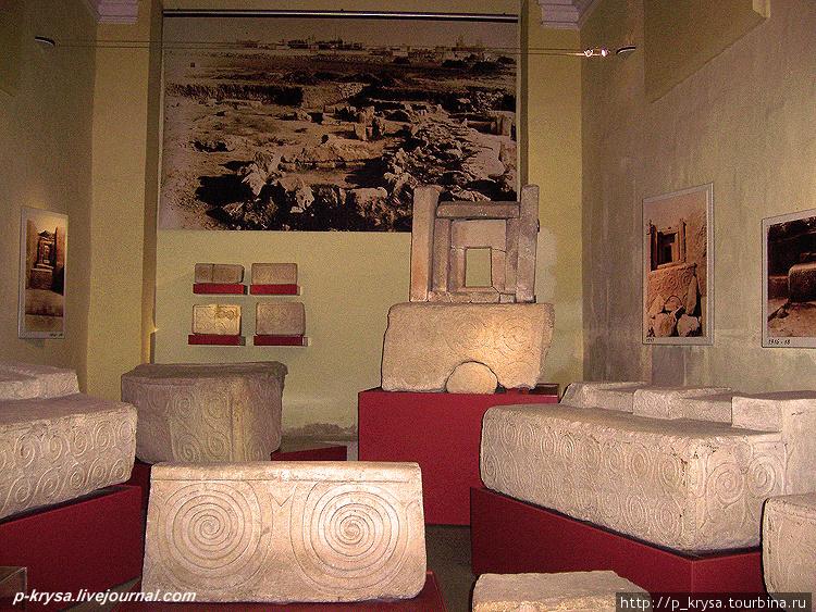 Экспозиция, посвященная храму Таршин