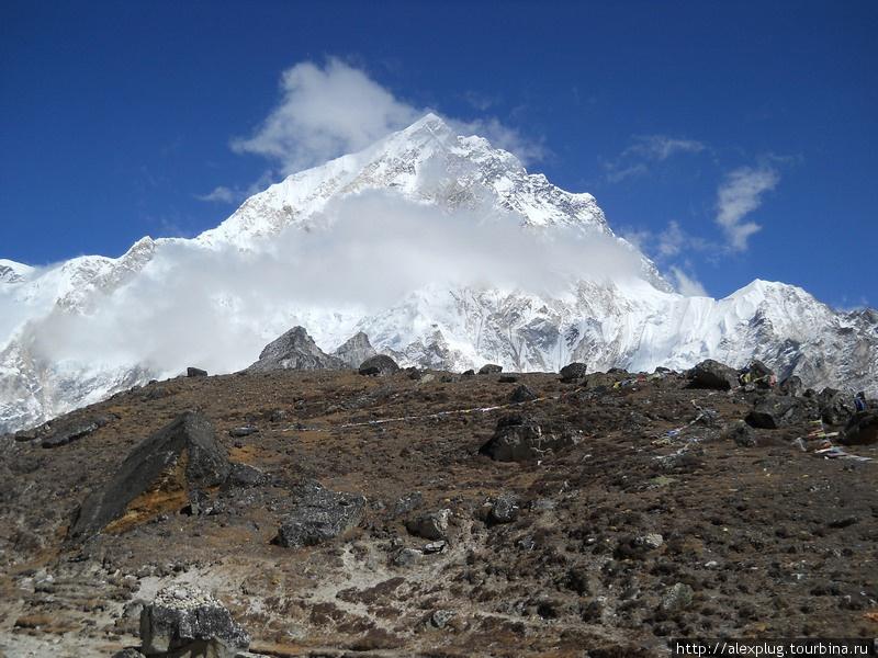 Перевал Лобуче Пасс (5110 м)