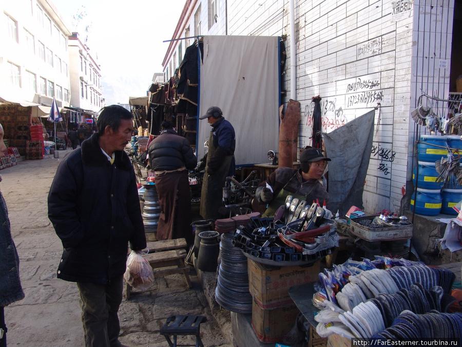 на базаре Шигадзе