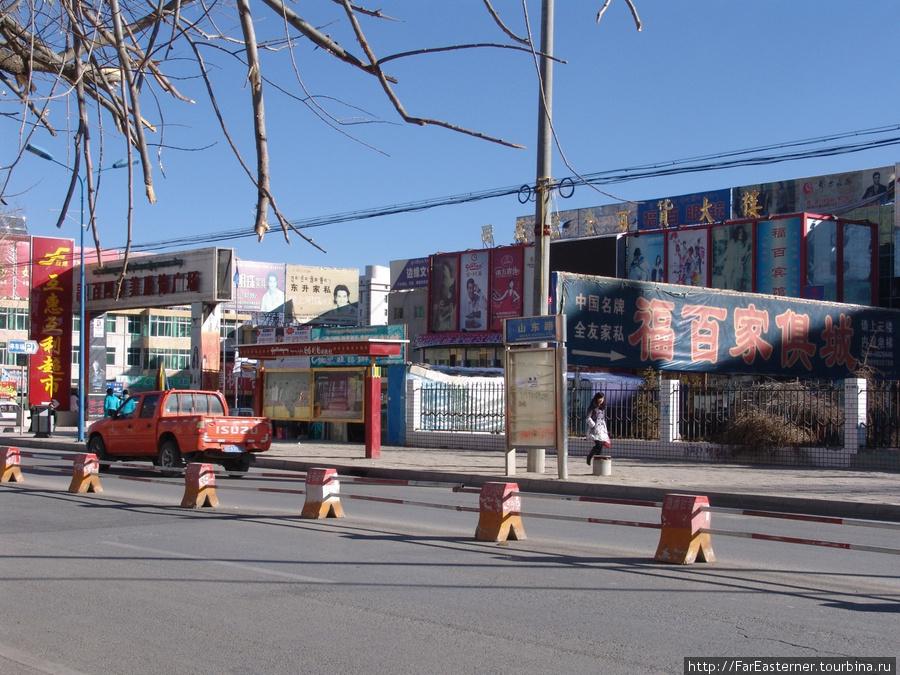 Новый торговый центр на юге Shandong Lu