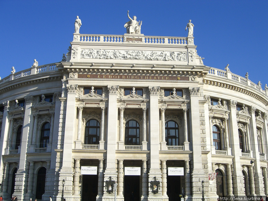 Здание Бургтеатра