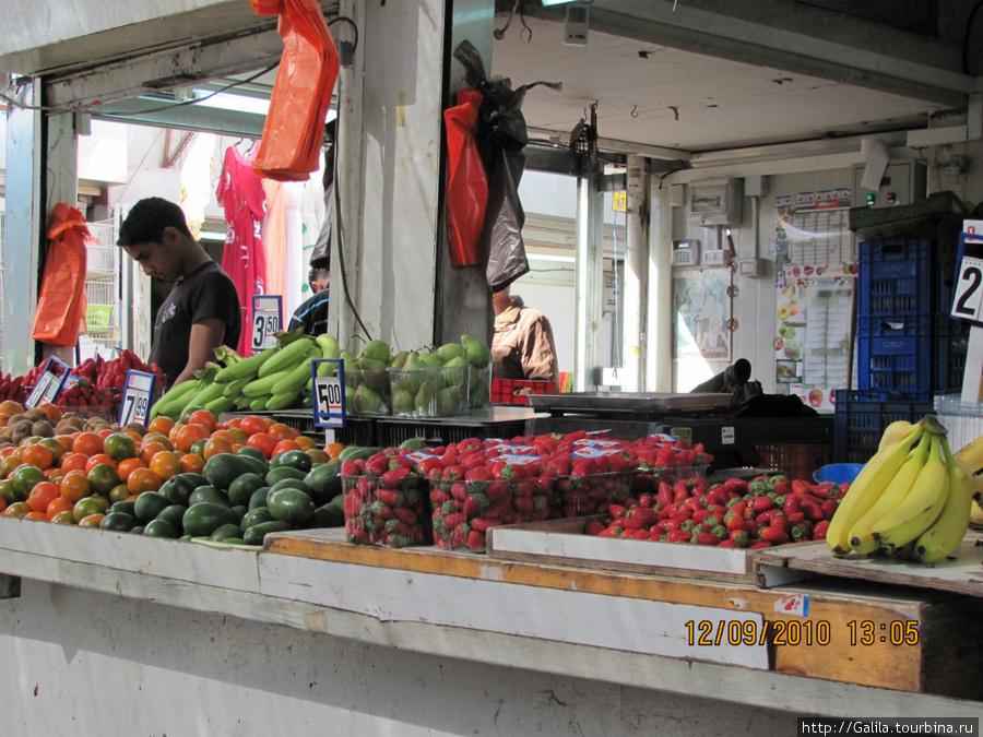Овощной базар.