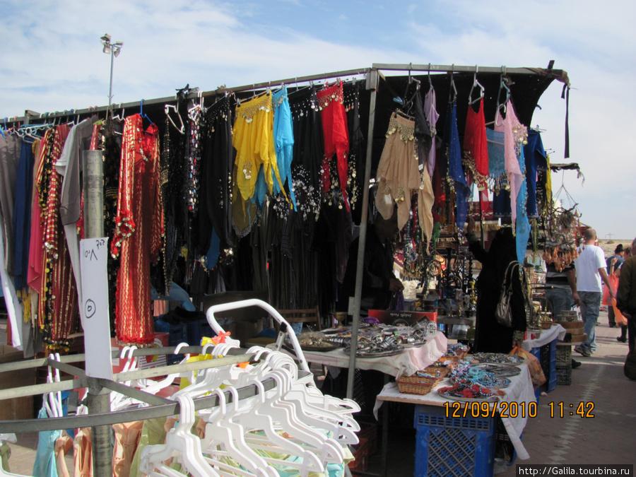 Бедуинский базар.